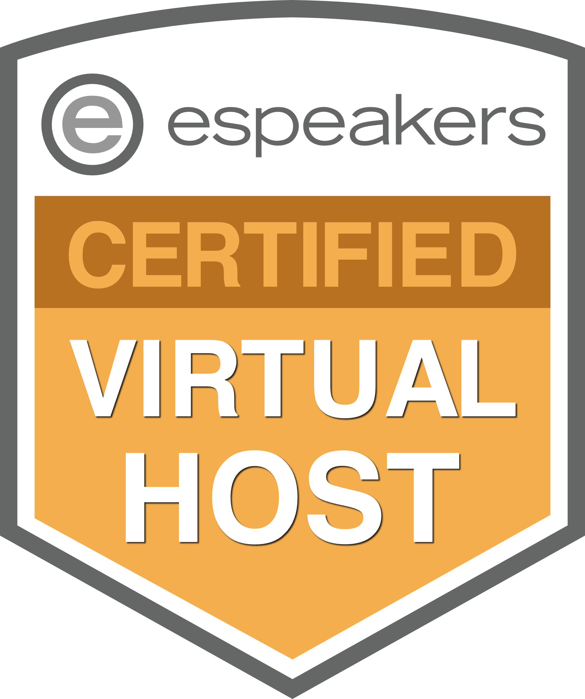 eSpeakers Certified Virtual Host