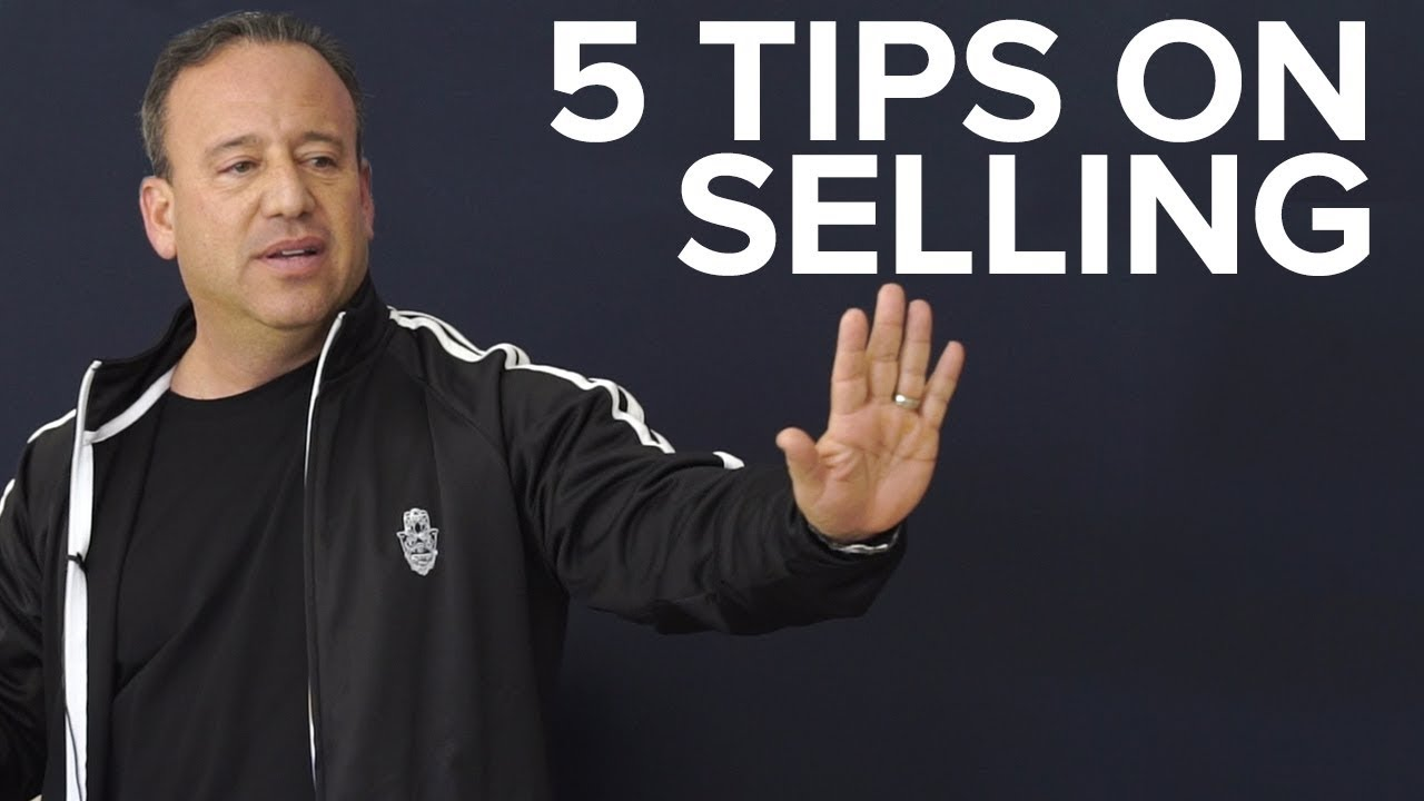 The Five Steps of Selling